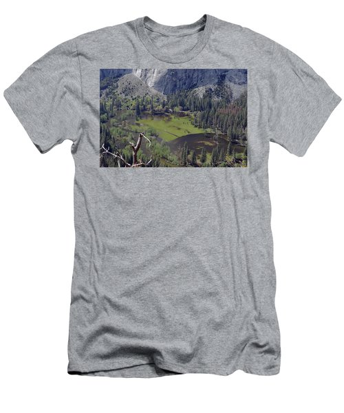 The Meadow From Four Mile Trail Men's T-Shirt (Athletic Fit)