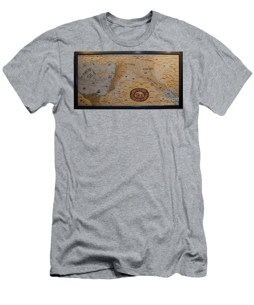 Men's T-Shirt (Athletic Fit) featuring the photograph The Middle East by Mae Wertz
