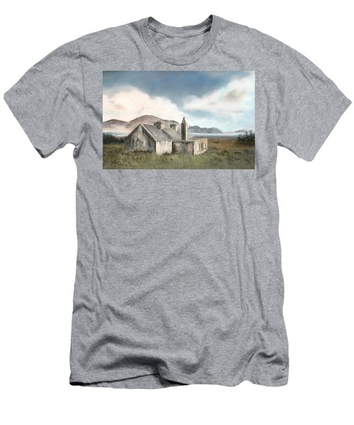 The Mist Of Moorland Men's T-Shirt (Slim Fit) by Colleen Taylor