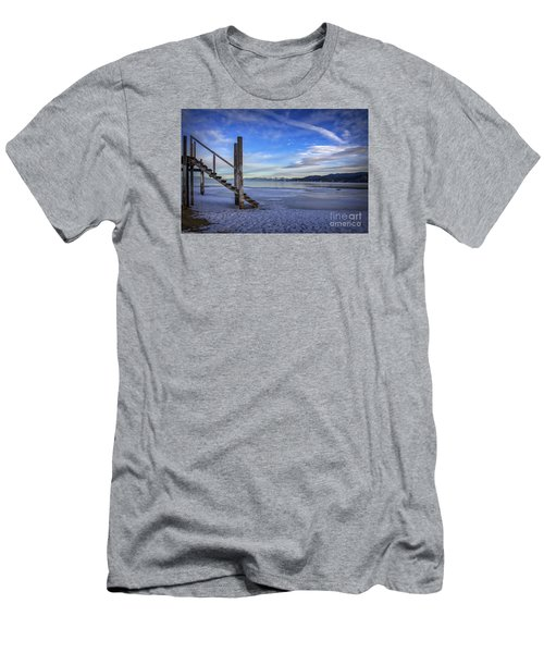 The Morning After Blues Men's T-Shirt (Slim Fit) by Mitch Shindelbower