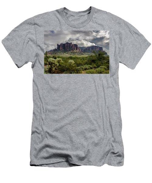 The Mystic Mountain  Men's T-Shirt (Athletic Fit)