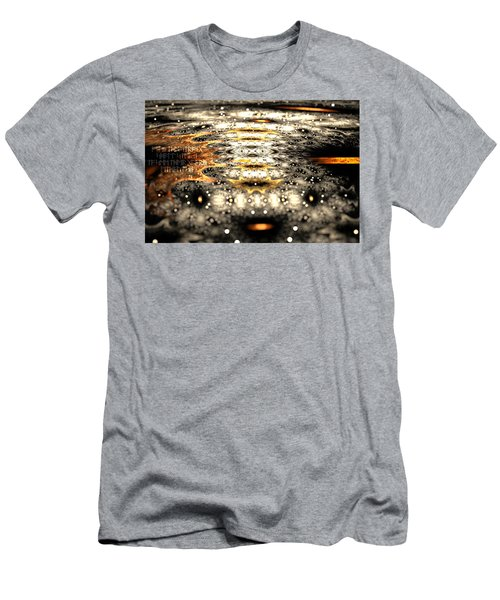 Men's T-Shirt (Athletic Fit) featuring the digital art The Name Of Power by Michal Dunaj