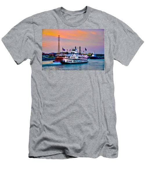The Natchez On The Mississippi Men's T-Shirt (Athletic Fit)
