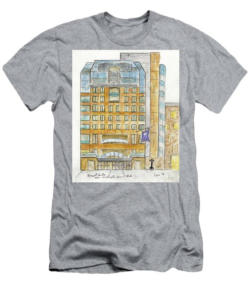 The Nyu Kimmel Student Center Men's T-Shirt (Slim Fit) by AFineLyne