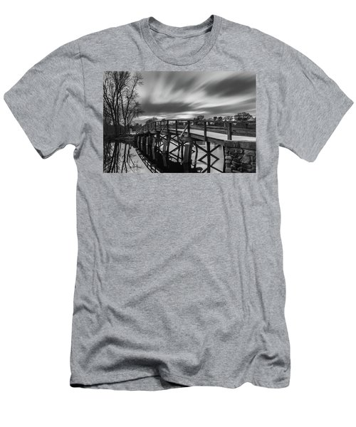 The Old North Bridge Men's T-Shirt (Athletic Fit)