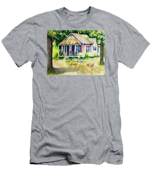 The Old Place Men's T-Shirt (Slim Fit) by Rebecca Korpita