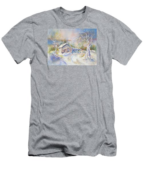 The Old Shed Men's T-Shirt (Athletic Fit)