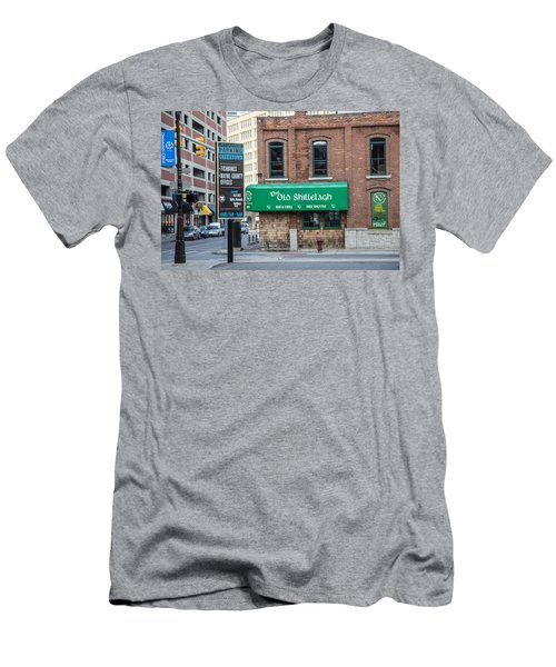The Old Shillelagh Detroit  Men's T-Shirt (Athletic Fit)
