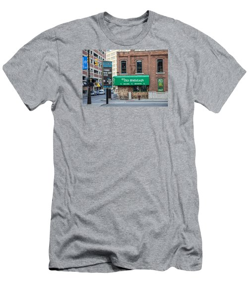 The Old Shillelagh Detroit  Men's T-Shirt (Athletic Fit)