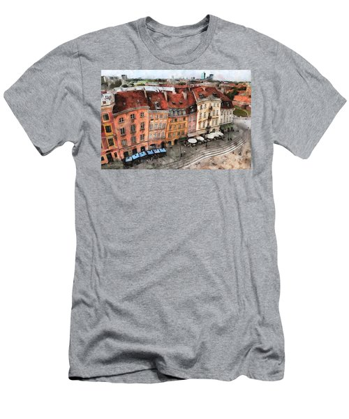 Old Town In Warsaw # 20 Men's T-Shirt (Athletic Fit)