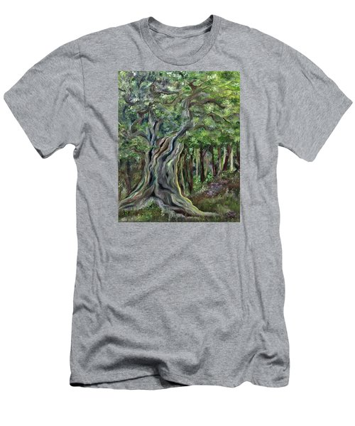 The Om Tree Men's T-Shirt (Athletic Fit)
