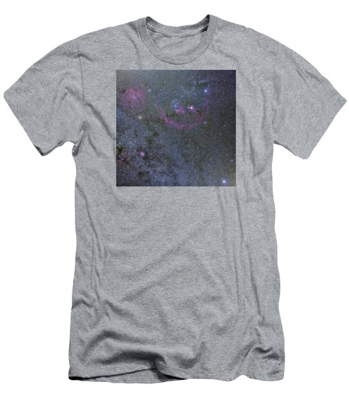 Men's T-Shirt (Slim Fit) featuring the photograph The Orion Complex by Charles Warren