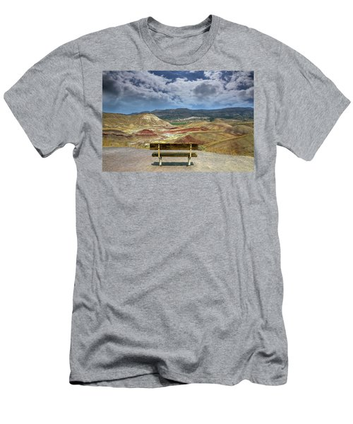 The Overlook At Painted Hills In Oregon Men's T-Shirt (Athletic Fit)