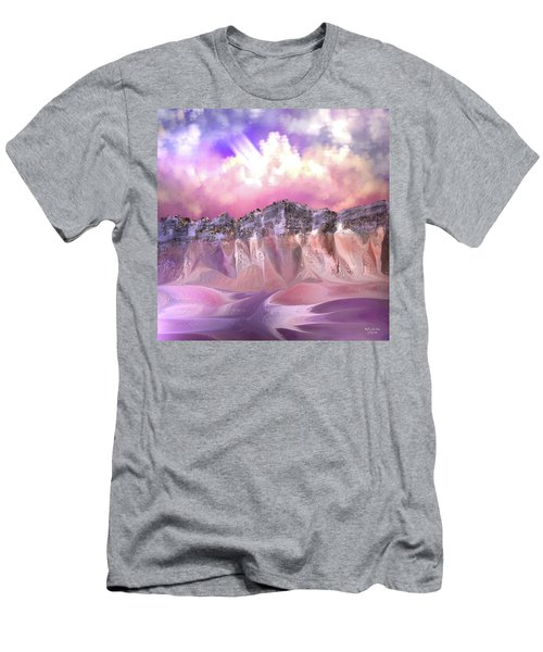 The Painted Sand Rocks Men's T-Shirt (Athletic Fit)