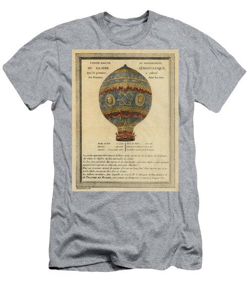 The Paris Ascent Men's T-Shirt (Athletic Fit)