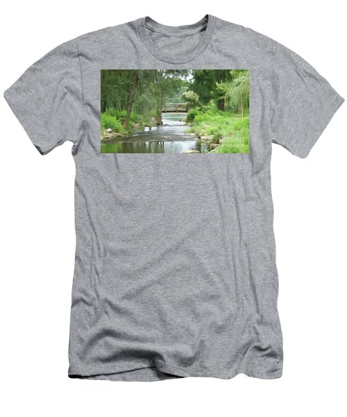 The Pasture's Bridge Men's T-Shirt (Athletic Fit)