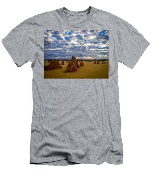 The Pinnacles Sunset Men's T-Shirt (Athletic Fit)
