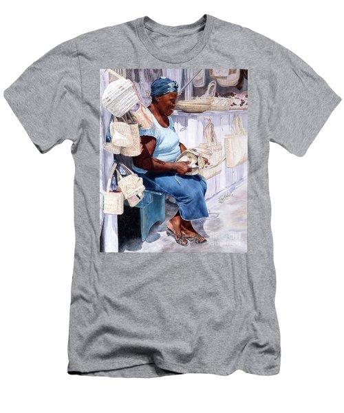The Plait Lady Men's T-Shirt (Athletic Fit)