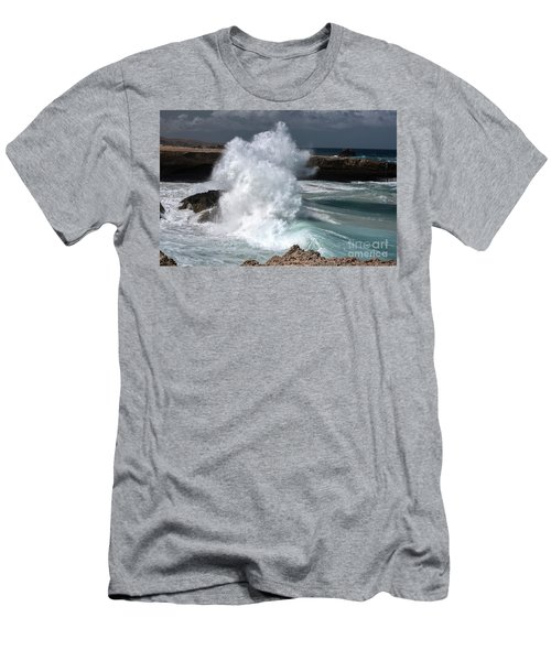 The Power Of The Sea Men's T-Shirt (Athletic Fit)