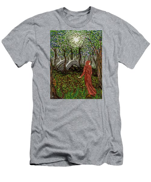 The Priestess Of Ealon Men's T-Shirt (Slim Fit) by FT McKinstry