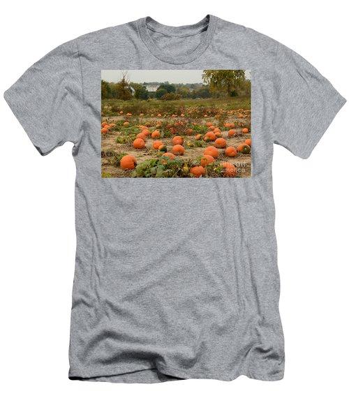 The Pumpkin Farm Two Men's T-Shirt (Athletic Fit)