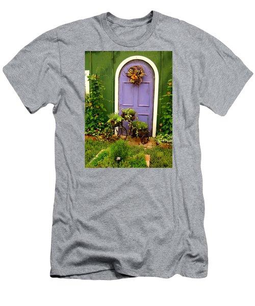 The Purple Door Men's T-Shirt (Slim Fit) by Michiale Schneider