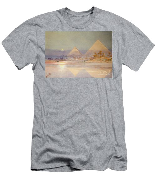 The Pyramids At Dusk Men's T-Shirt (Athletic Fit)