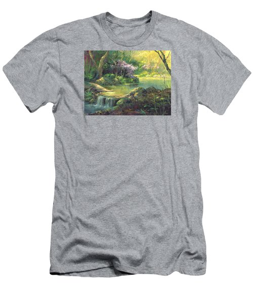 The Quiet Creek Men's T-Shirt (Slim Fit) by Michael Humphries