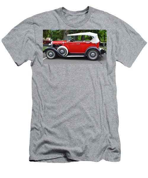 The Red Convertible Men's T-Shirt (Athletic Fit)