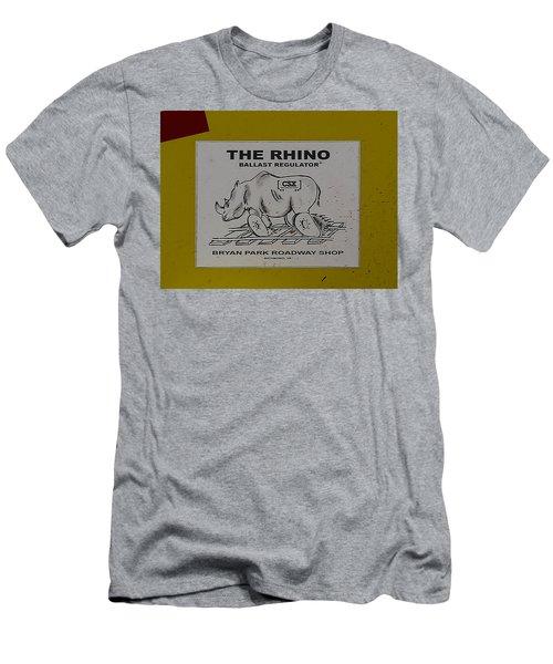 The Rhino Ballast Regulator Men's T-Shirt (Athletic Fit)