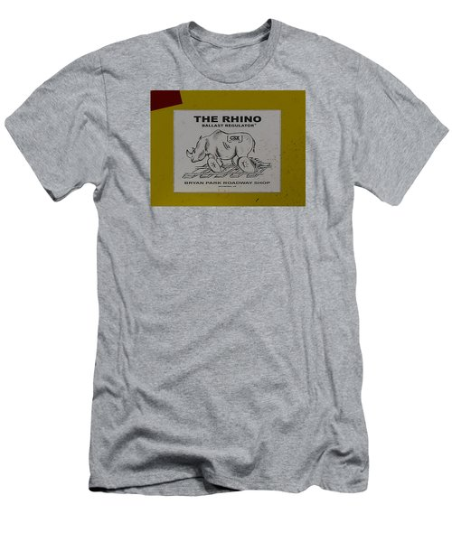 The Rhino Ballast Regulator Men's T-Shirt (Athletic Fit)