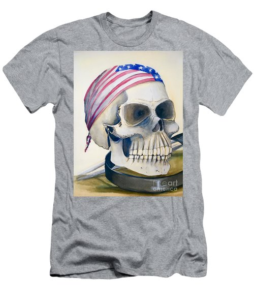 The Rider's Skull Men's T-Shirt (Athletic Fit)
