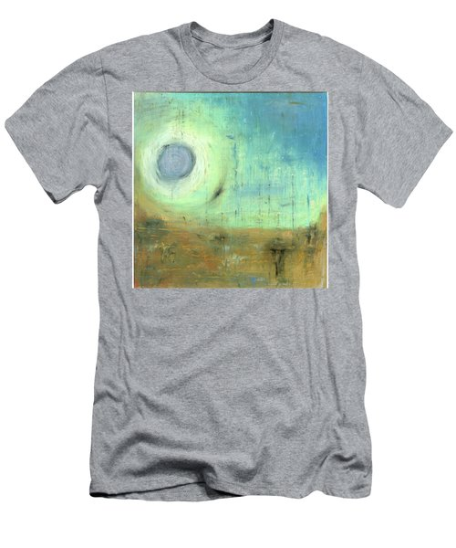 Men's T-Shirt (Slim Fit) featuring the painting The Rising Sun by Michal Mitak Mahgerefteh