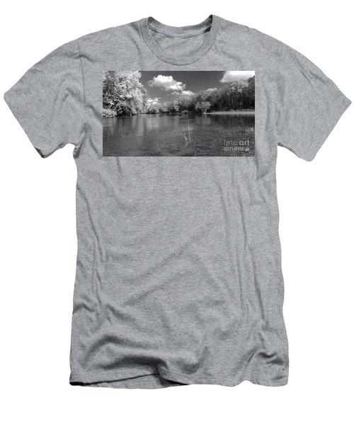 The Rivers Bend  Men's T-Shirt (Slim Fit) by Scott D Van Osdol