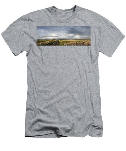 The Road Is Never Easy Men's T-Shirt (Athletic Fit)