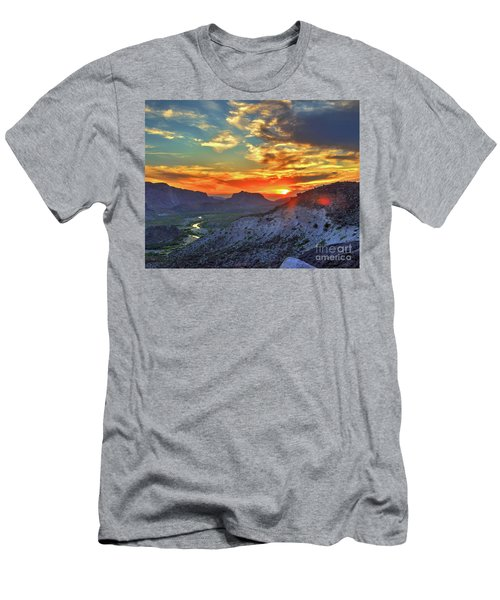 The Road To Presidio Men's T-Shirt (Athletic Fit)