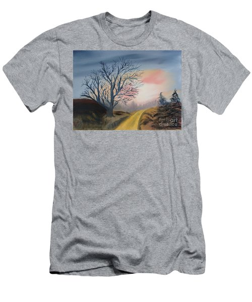 The Road To... Men's T-Shirt (Slim Fit) by Rod Jellison