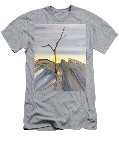 The Rock Garden Men's T-Shirt (Slim Fit) by Pat Purdy