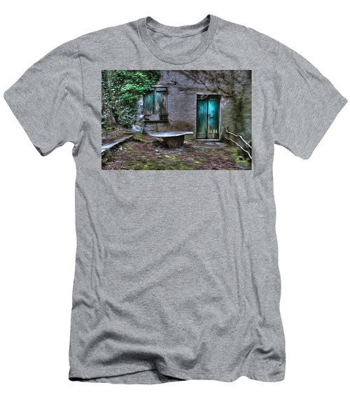 The Round Table House In The Abandoned Village Of The Ligurian Mountains High Way Men's T-Shirt (Athletic Fit)