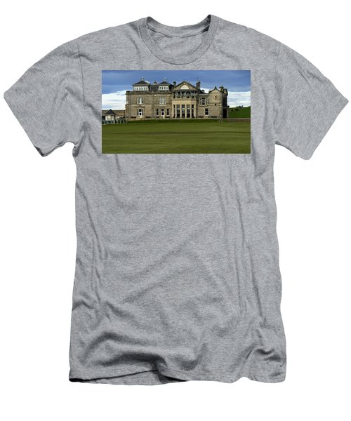 Men's T-Shirt (Slim Fit) featuring the photograph The Royal And Ancient St. Andrews Scotland by Sally Ross