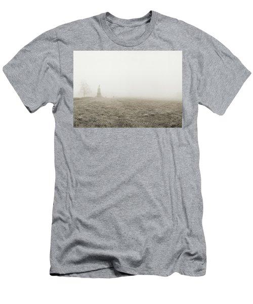 The Running Man Men's T-Shirt (Slim Fit) by Jan W Faul