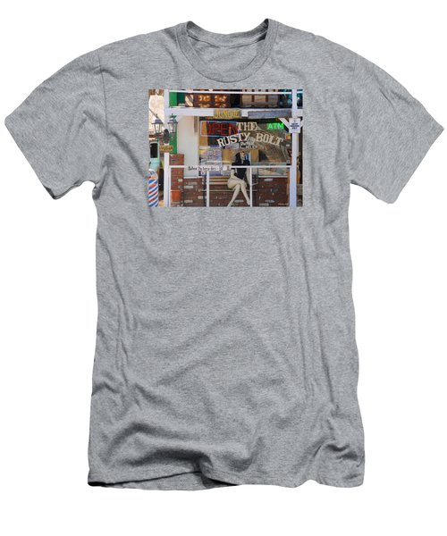 The Rusty Bolt - Seligman, Historic Route 66 Men's T-Shirt (Athletic Fit)