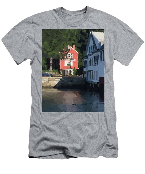 The Sacred Cod And Beacon Marine Men's T-Shirt (Athletic Fit)