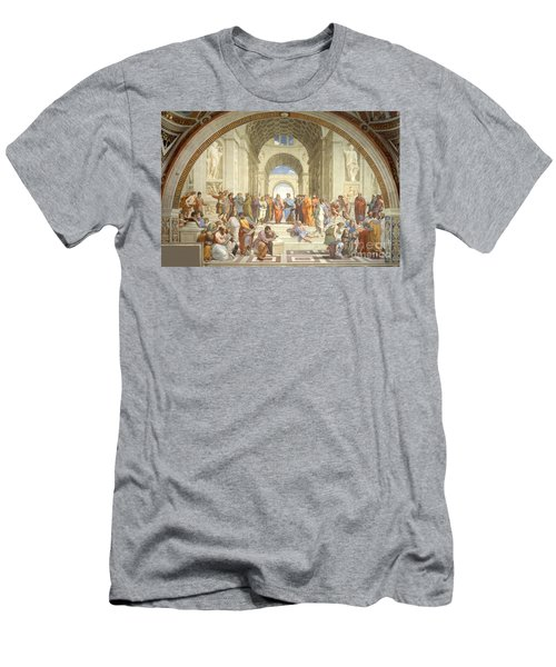 The School Of Athens, Raphael Men's T-Shirt (Athletic Fit)