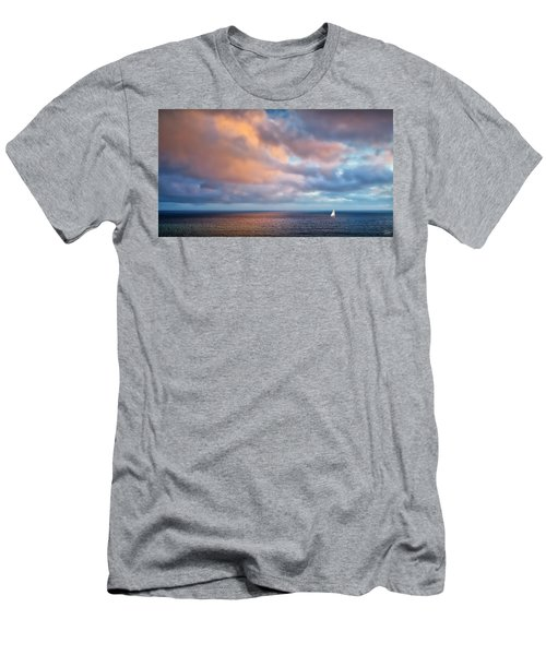 The Sea At Peace Men's T-Shirt (Athletic Fit)