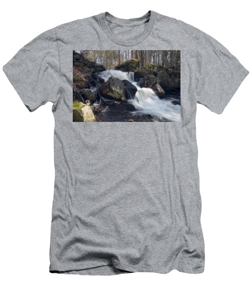 The Secret Waterfall 1 Men's T-Shirt (Athletic Fit)