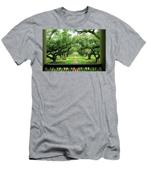 The Shade Of The Oak Tree Men's T-Shirt (Athletic Fit)