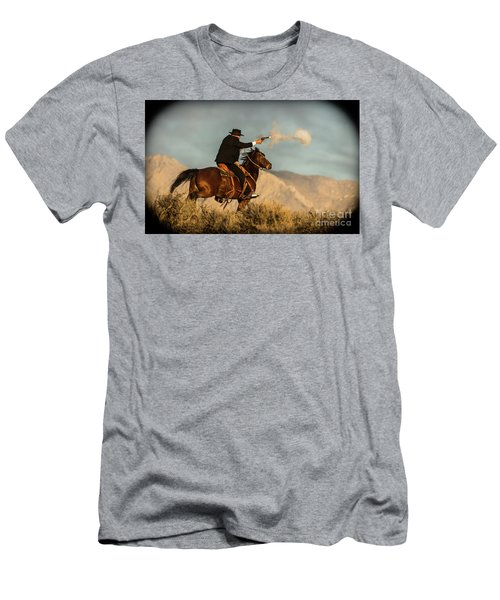 The Sharp Shooter Western Art By Kaylyn Franks Men's T-Shirt (Athletic Fit)