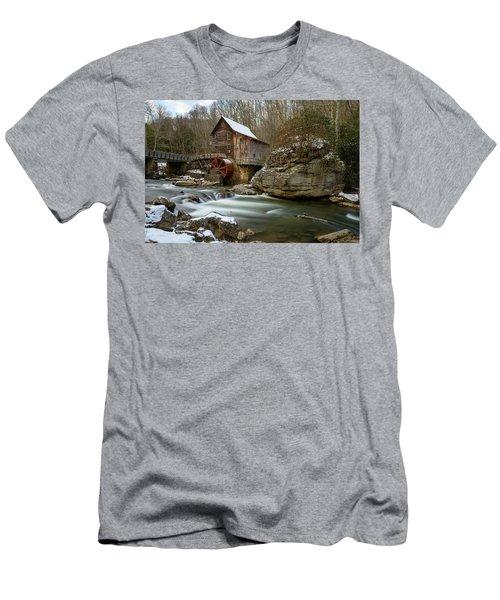 The Splendor Of West Virginia Men's T-Shirt (Athletic Fit)