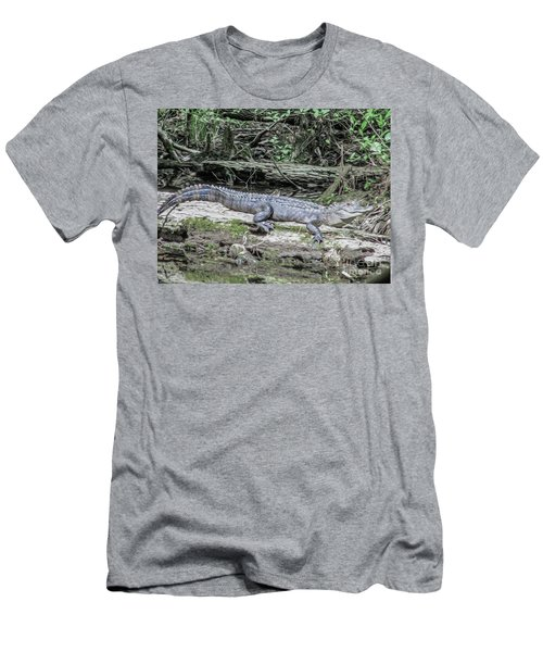 The Smiling Gator Men's T-Shirt (Athletic Fit)